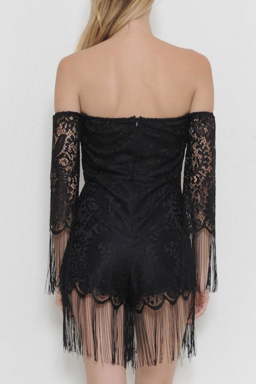 Latiste Lace Romper - Front Full Image