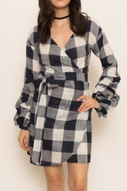 Latiste Large Check Dress - Product Mini Image