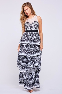 Latiste Layered Floral Maxi - Product List Image