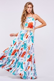 Latiste Leaf Print Maxi - Product Mini Image