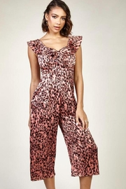 Latiste Leopard Capri Jumpsuit - Product Mini Image