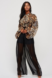 Latiste Leopard Jumpsuit - Product Mini Image