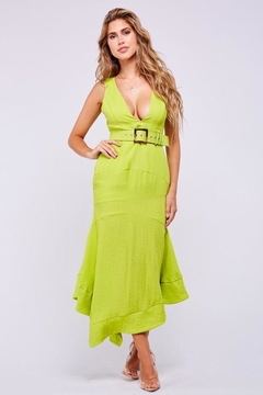 Latiste Lime Green Dress - Product List Image