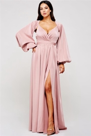 Latiste Mauve Maxi Dress - Product Mini Image