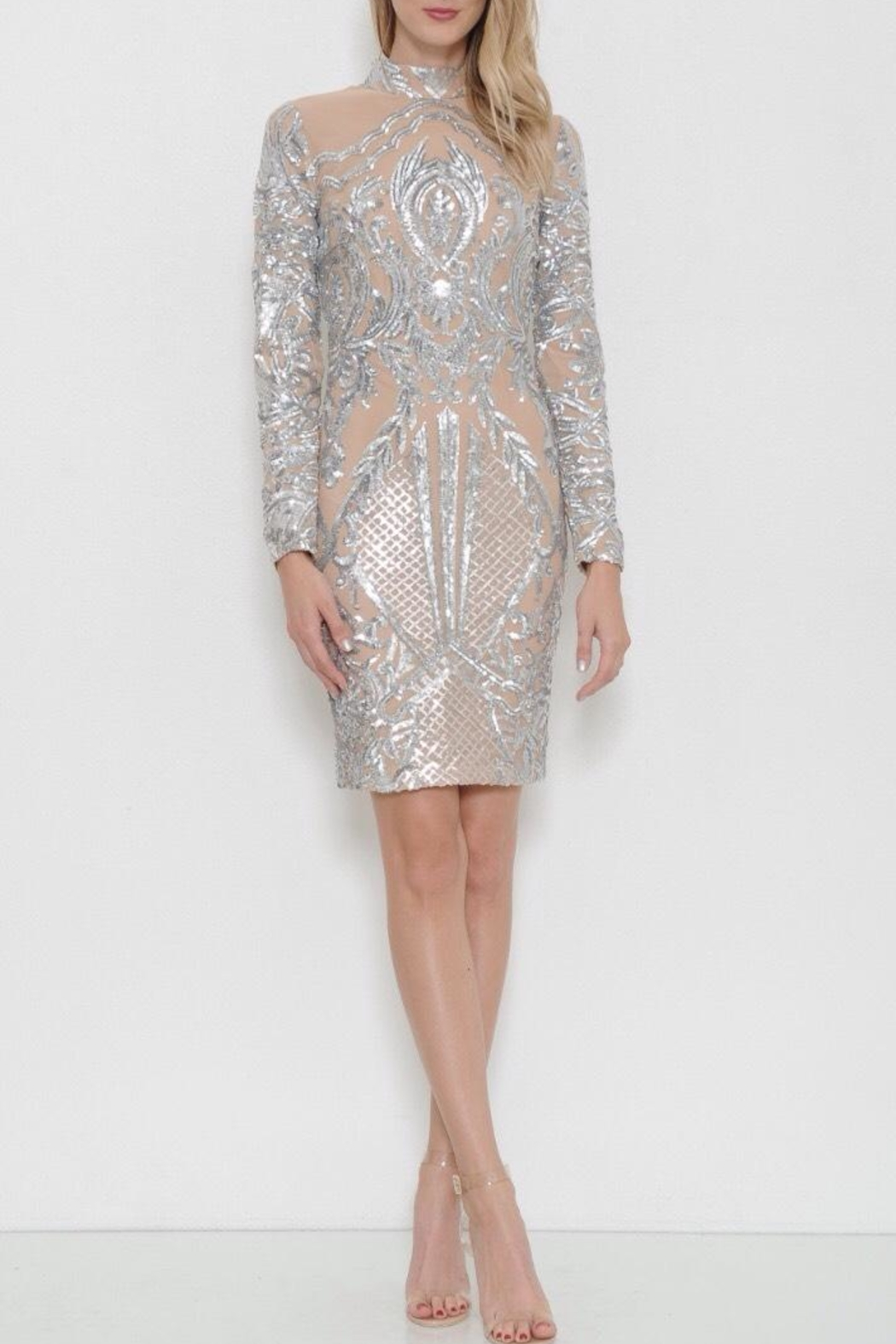 Latiste Midi Sequin  Dress - Main Image