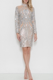Latiste Midi Sequin  Dress - Front cropped