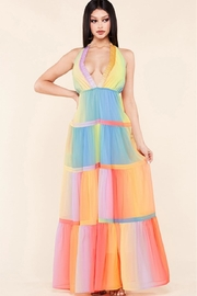 Latiste Multicolored Maxi Dress - Product Mini Image