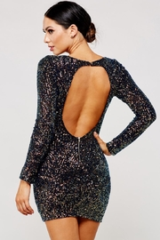 Latiste Multicolored Sequin Dress - Front full body