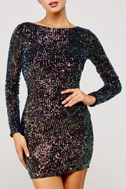 Latiste Multicolored Sequin Dress - Front cropped