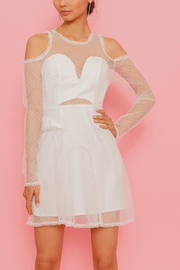 Latiste Net Overlay Dress - Front cropped