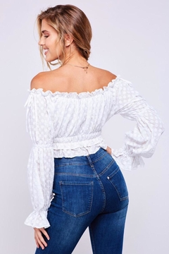 Latiste Off Shoulder Cotton Top - Alternate List Image