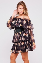 Latiste Off-Shoulder Floral Dress - Side cropped