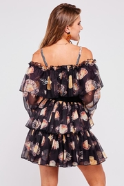 Latiste Off-Shoulder Floral Dress - Back cropped