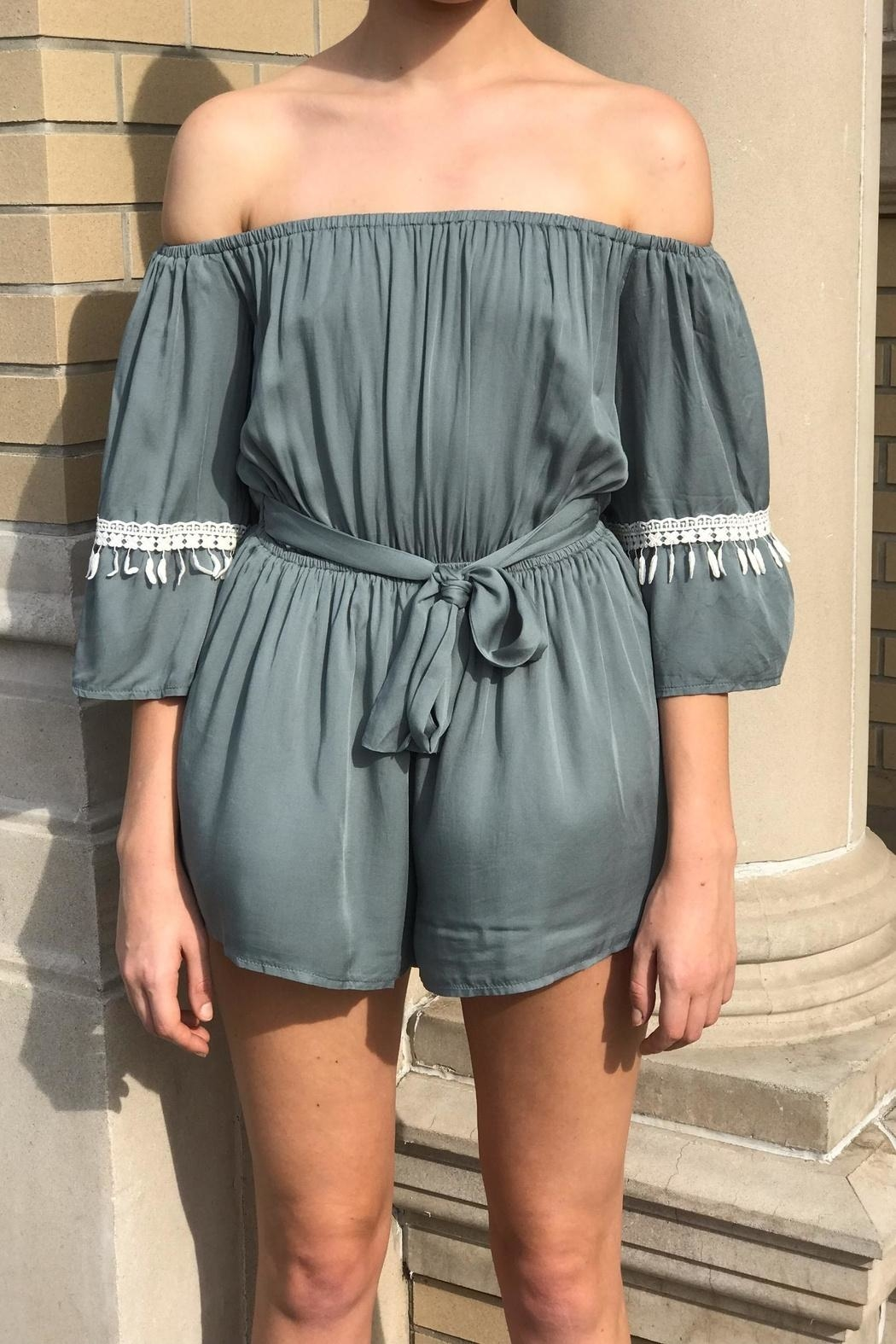Latiste Off Shoulder Romper - Main Image