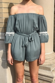 Latiste Off Shoulder Romper - Front cropped