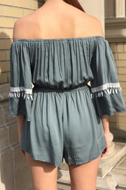 Latiste Off Shoulder Romper - Front full body