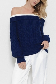 Latiste Off Shoulder Sweater - Product Mini Image