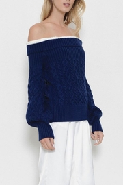 Latiste Off Shoulder Sweater - Front full body
