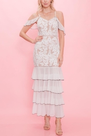 Latiste Off-White Lace Dress - Product Mini Image