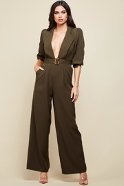 Latiste Olive Green Jumpsuit - Product Mini Image