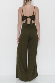 Latiste Olive Jumpsuit - Front full body