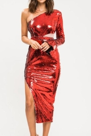 Latiste One-Shoulder Sequin Dress - Product Mini Image