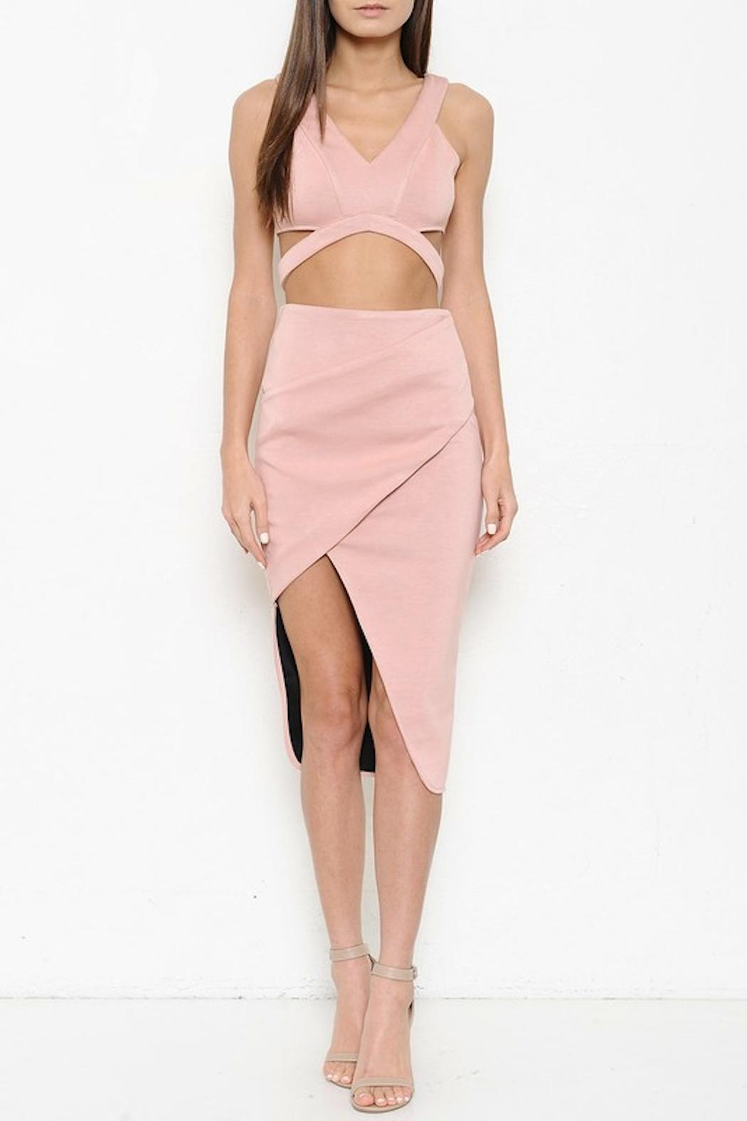 Latiste Origami Skirt Set From Los Angeles By Snatched Fashion