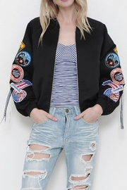 Latiste Patch Bomber Jacket - Product Mini Image
