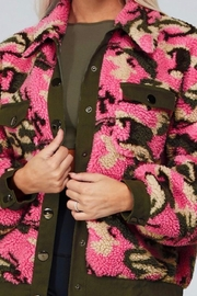 Latiste Pink Camouflage Teddy Coat - Other
