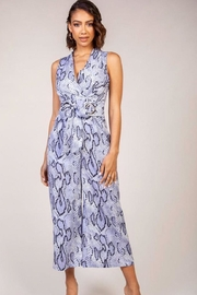 Latiste Python Print Jumpsuit - Product Mini Image