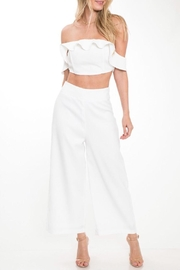 Latiste Ruffle Pant Set - Front cropped