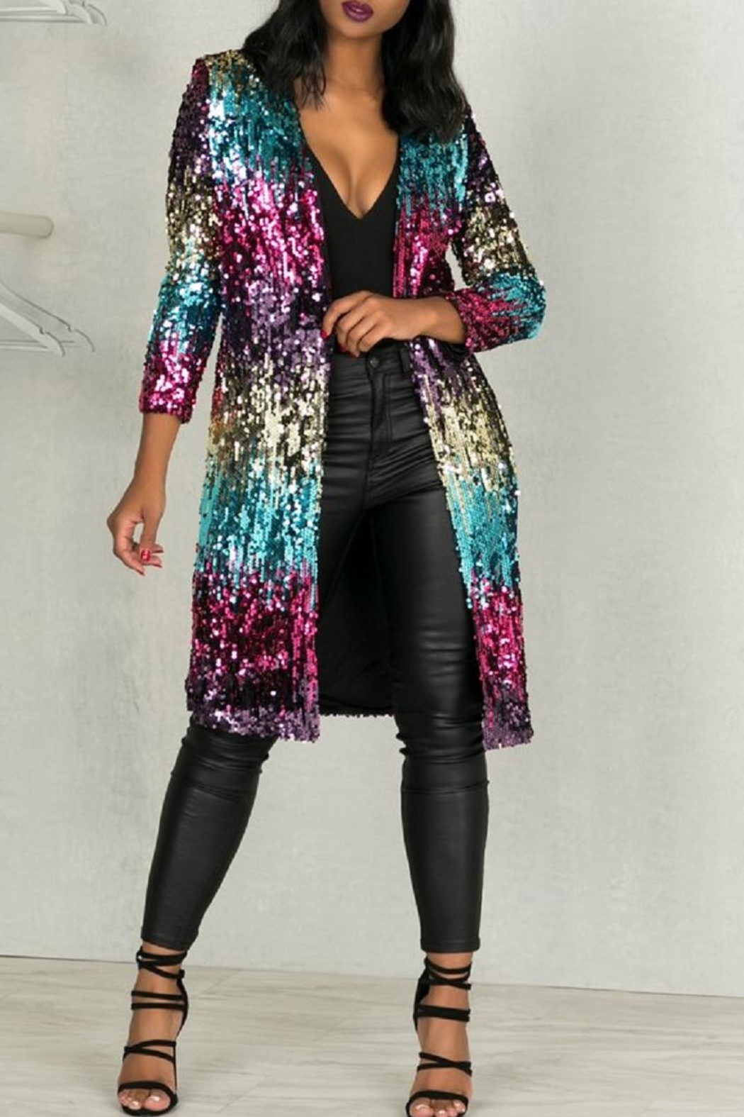 Latiste Sequin Cardigan from Missouri by Domi More — Shoptiques