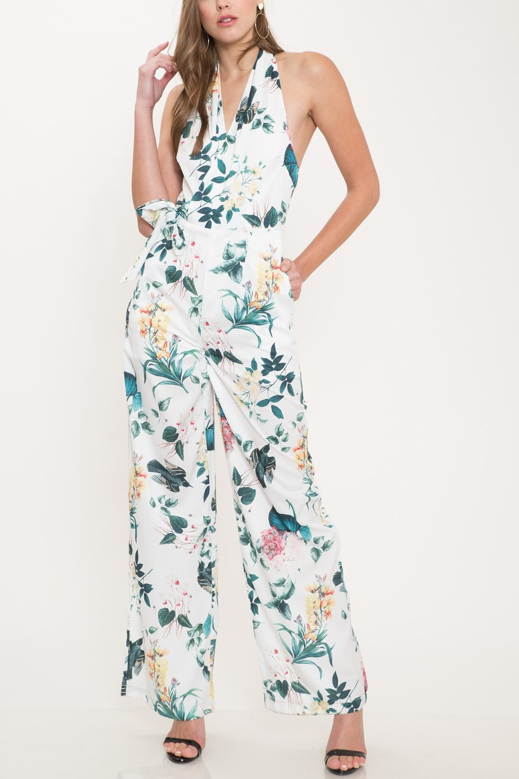 9f75ad5d2d47 Latiste Sleeveless Floral Jumpsuit from New York by Dor L Dor ...