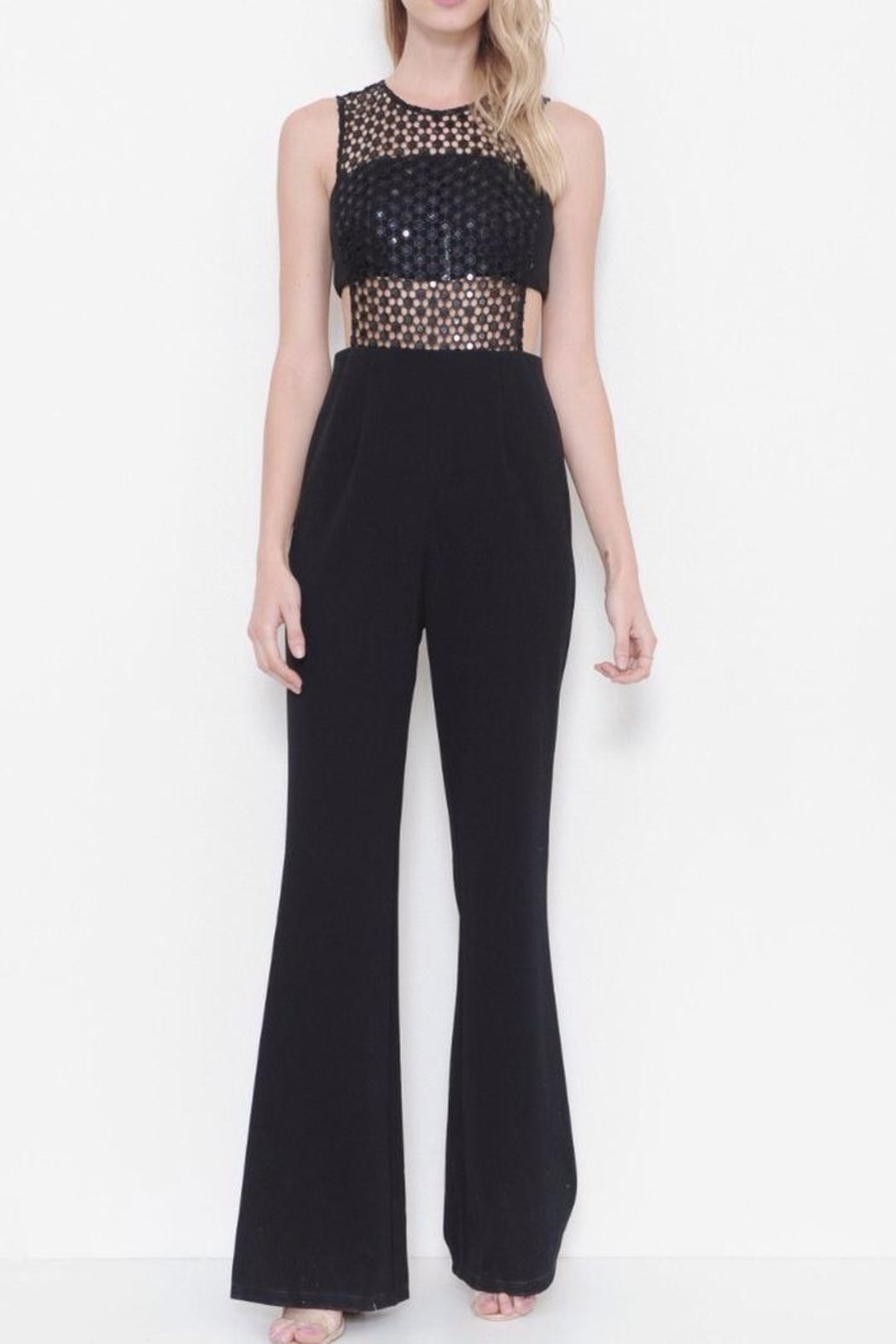 Latiste Sleeveless  Jumpsuit - Front Cropped Image