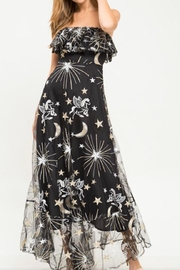 Latiste Strapless Space Dress - Product Mini Image
