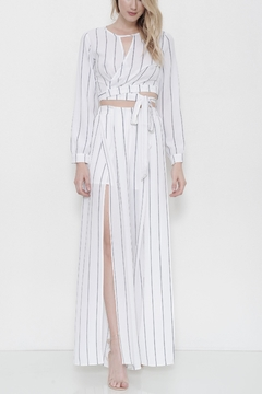 L'atiste Striped Flare Pant Set - Product List Image