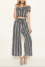 Latiste Striped Pant Set - Front cropped