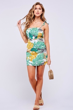 Latiste Summer Forest Dress - Product List Image