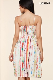 Latiste Summer Watercolor Dress - Front full body