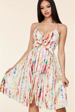 Latiste Summer Watercolor Dress - Product List Image