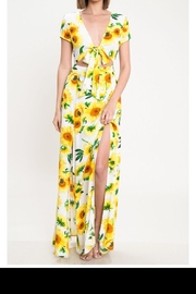 Latiste Sunflower Dress - Front cropped