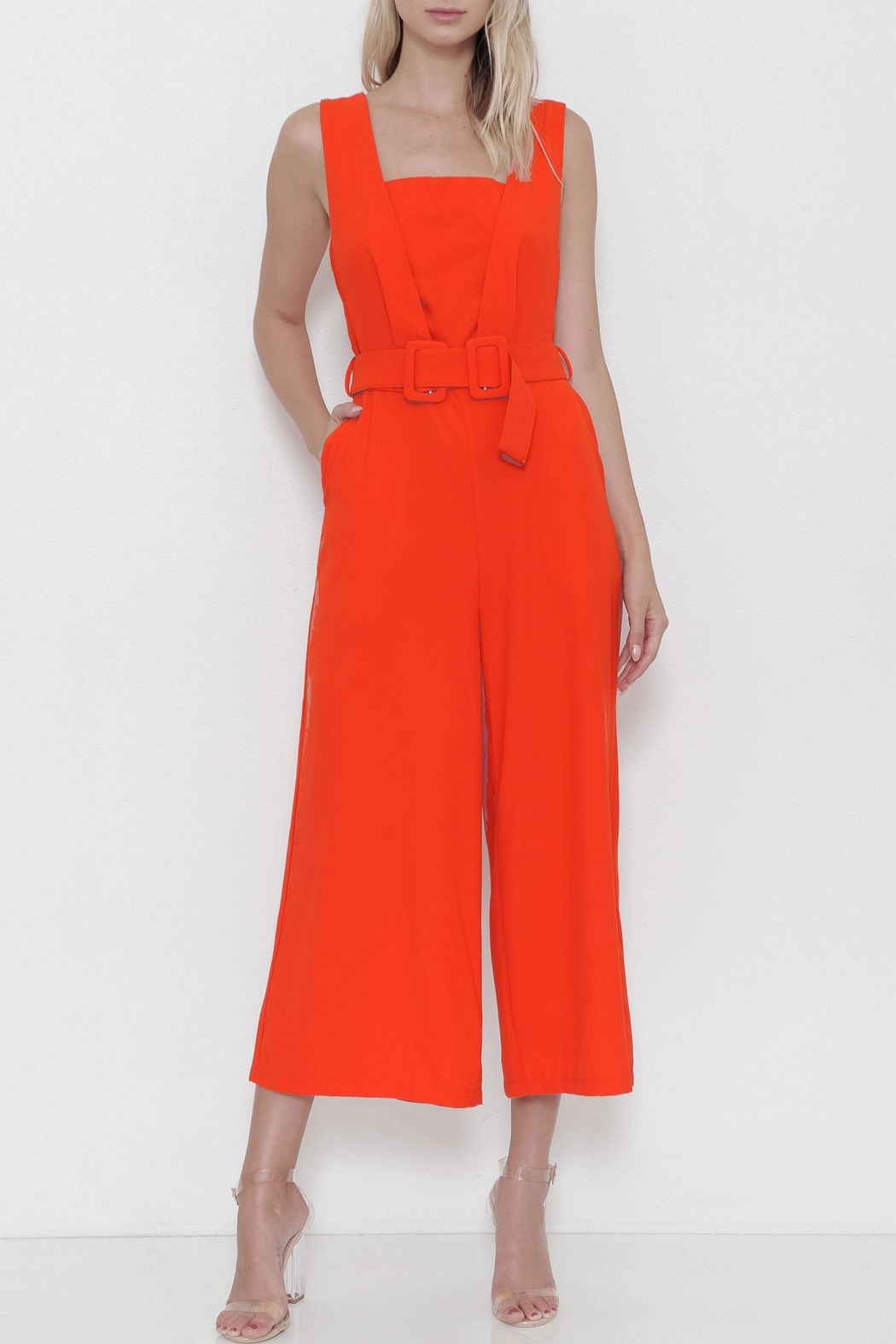 e36e375c36374 L atiste Belted Jumpsuit from New York by Dor L Dor — Shoptiques