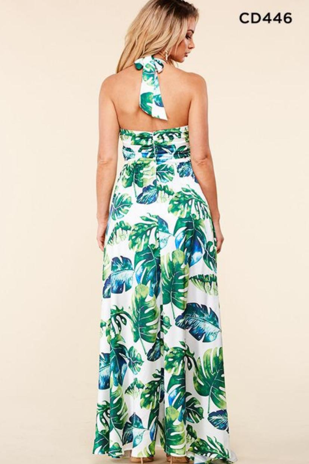 Latiste Tropical Leaf Maxi - Front Full Image