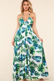 Latiste Tropical Leaf Maxi - Front cropped