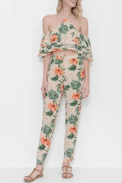 Shoptiques Product: Flower Print Pant Set