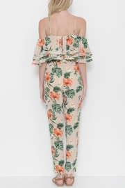 L'atiste Flower Print Pant Set - Front full body