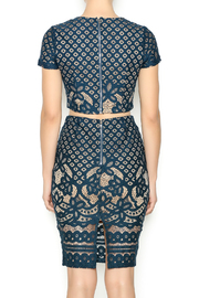 L'atiste Green Lace Matching Set - Back cropped
