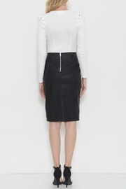 Latiste Vegan Leather Skirt - Side cropped