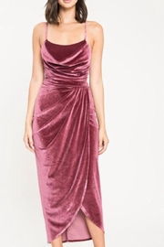 Latiste Velvet Midi Dress - Product Mini Image