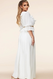 Latiste White Maxi Dress - Front full body
